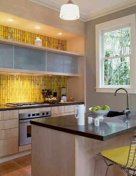 pin by mattie ivy on tile wallpaper kitchen design traditional kitchen design yellow kitchen on kitchen ideas yellow and grey id=27075