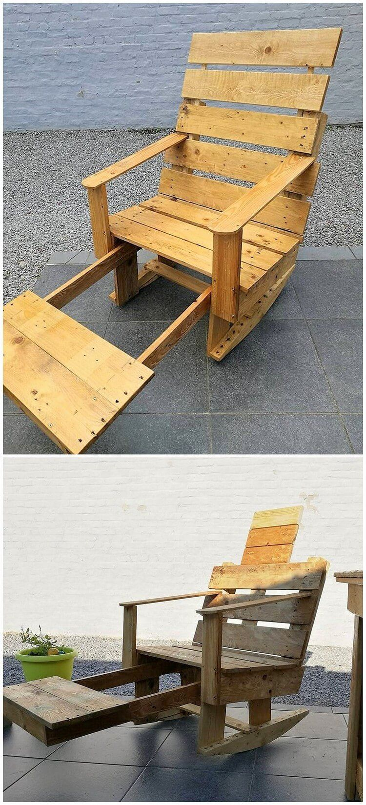 Pallet Rocking Chair | Back Yard | Pinterest | Pallet ...