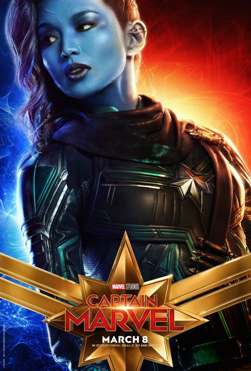 10 new captain marvel character posters feature all the key players