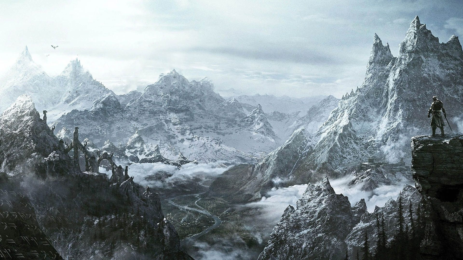 10 Latest Skyrim Desktop Background 1920x1080 Full Hd 1080p For Pc Desktop Skyrim Wallpaper Skyrim Art Skyrim