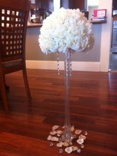 My Diy Pomanders Suggestions Comments Opinions Wedding Centerpieces Eiffel Tower Vases Ivory Purple Reception Receptions