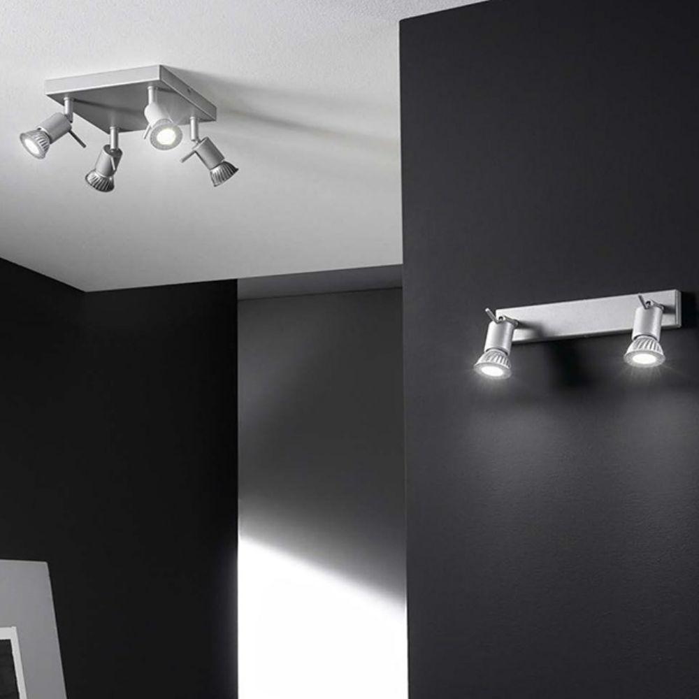 Linealight spotty faretti orientabili da parete soffitto for Faretti da parete