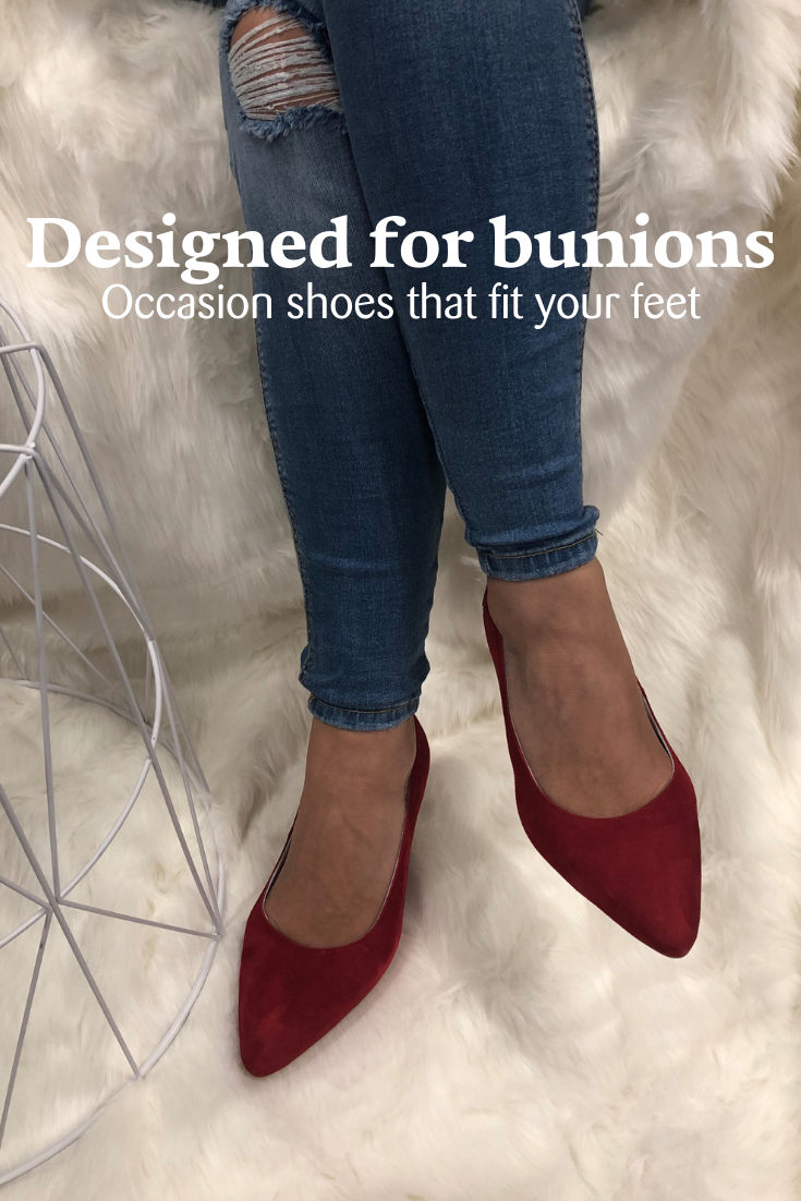 Stylish pumps for bunions  Dress shoes womens, Bunion shoes, Best