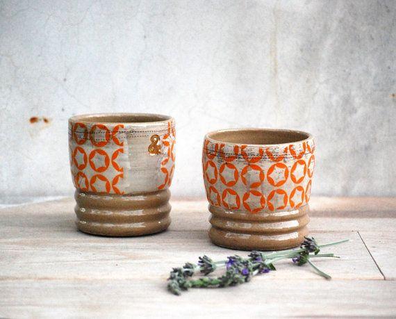 Ceramic Tumbler Drippy Glazed Tumbler Speckled Stoneware Ceramic Cup Wheelthrown Drinking Vessel Unique Glazed Ceramic Cup