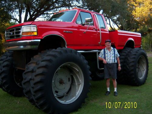 Monster Mud Trucks Ebay Find A Ford Monster Truck Built From A