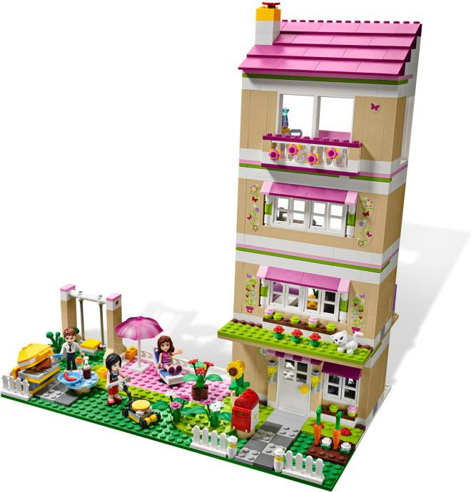 Lego Friends Olivias House Option 3 Lego Friends Lego Projects Lego For Kids