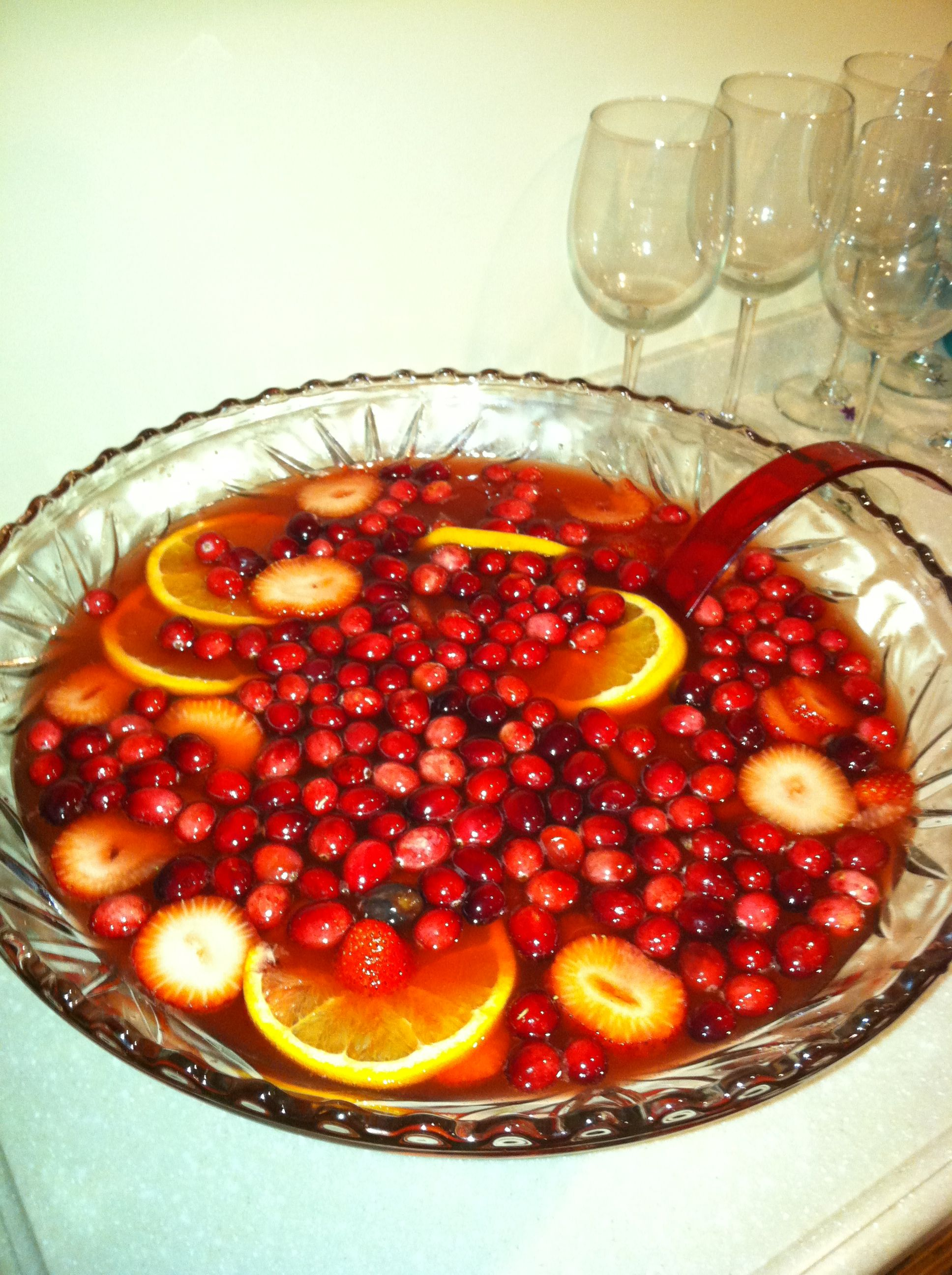 Holiday Champagne Punch | Christmas | Pinterest | Happy ...