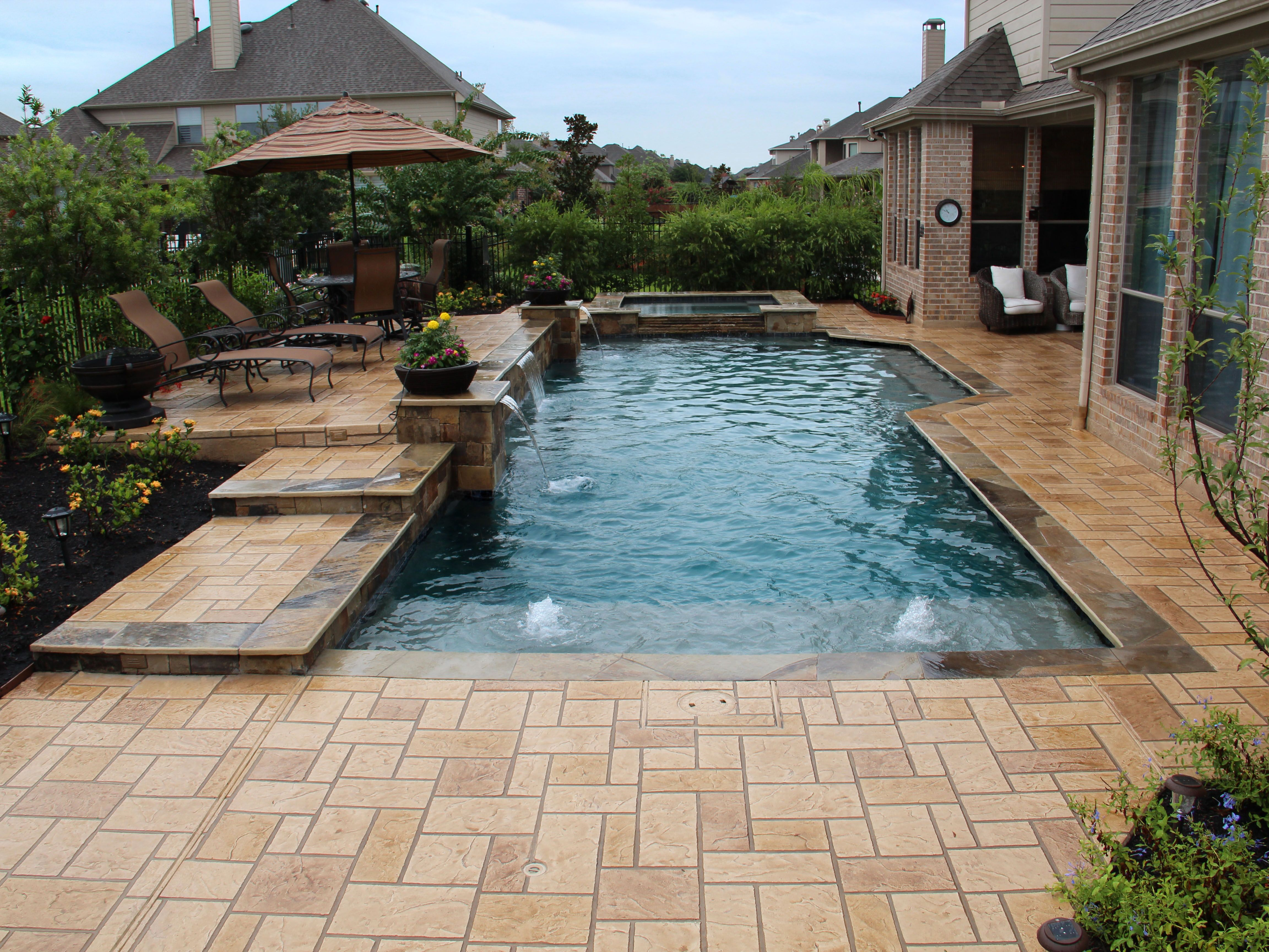 Contemporary Swimming Pools Design 135 Custom Outdoors Swimming Pool Designs Backyard Pool Swimming Pools