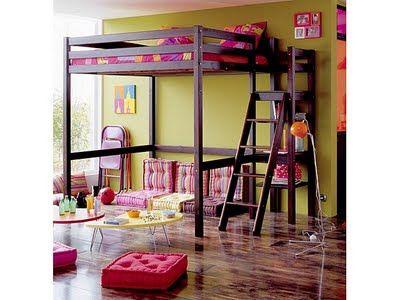 Camas altas camarotes para dormitorios 400 300 - Decoracion de habitaciones para jovenes ...