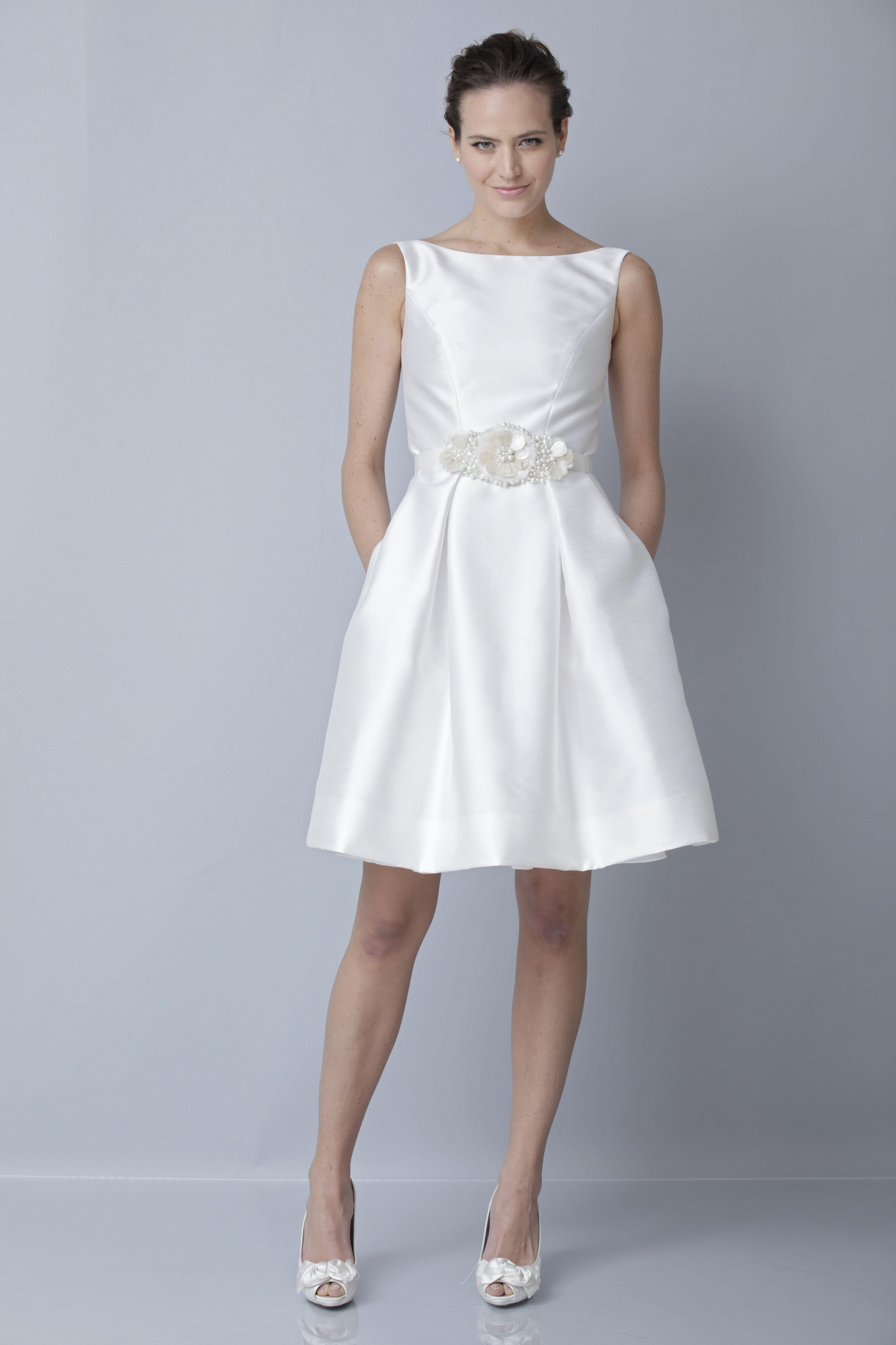 theia white collection wedding dress spring 2013 bridal gown 890010 ...