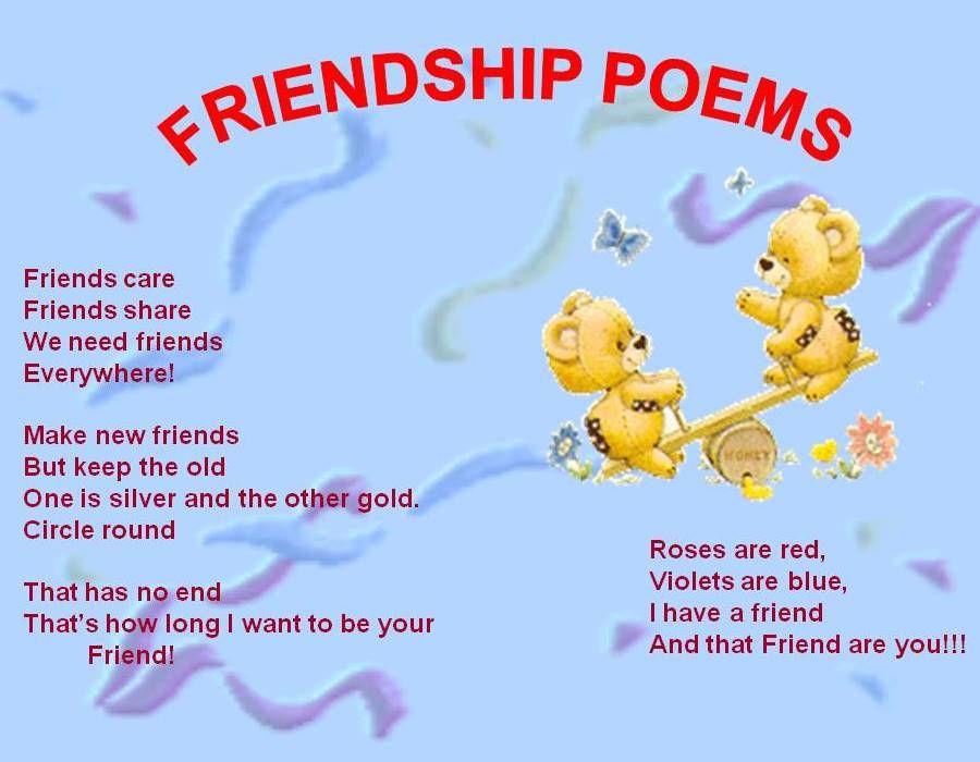 Happy Friendship Day Poems | Birthday poem for friend ...