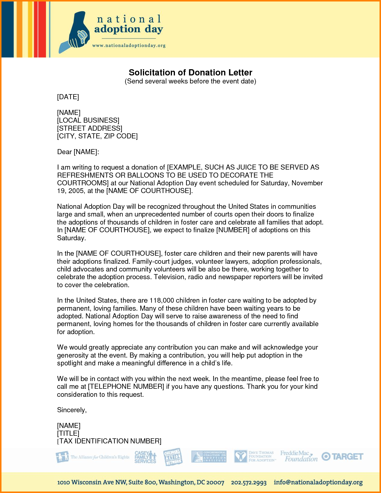 Letter Memo Templates Solicitation Free Sample Letters Writing