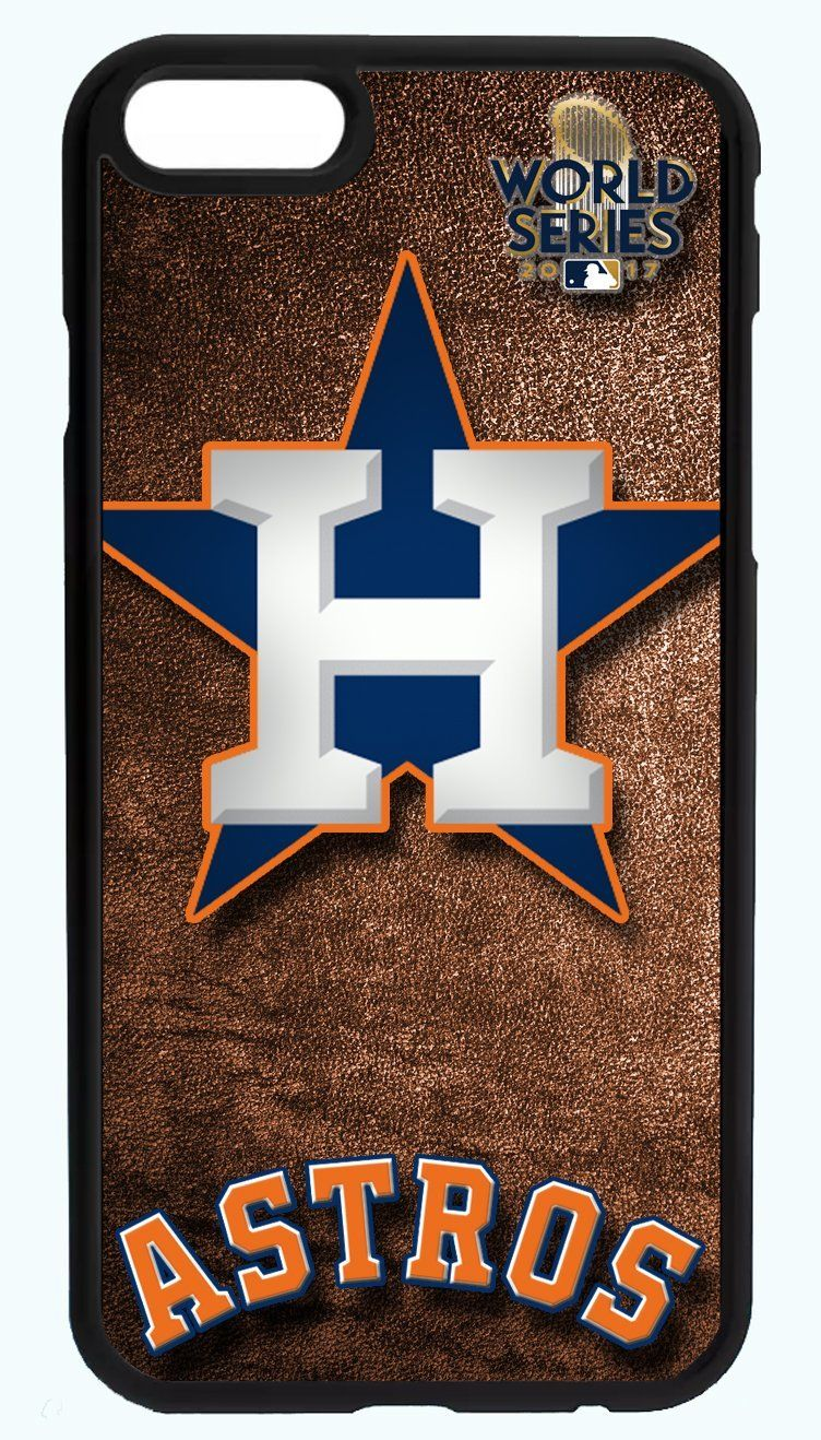Astros World Series Orange Background Baseball Phone Case