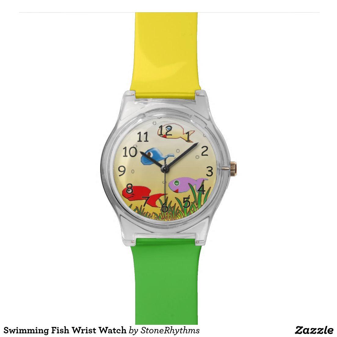 Swimming Fish Wrist Watch