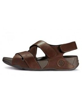 Mens FitFlop Lexx Navajo Brown Sandals