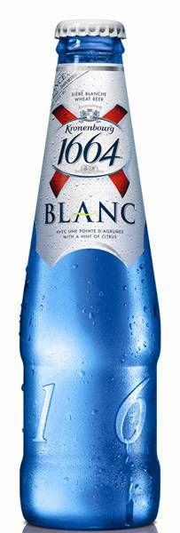 Kronenbourg 1664 – cerveja francesa mais famosa do mundo – e a Kronenbourg 1664 Blanc, são da cervejaria Kronenbourg 1664, e estão disponíveis tanto em lata quanto em garrafas modernas e elegantes nas cores verde e azul.