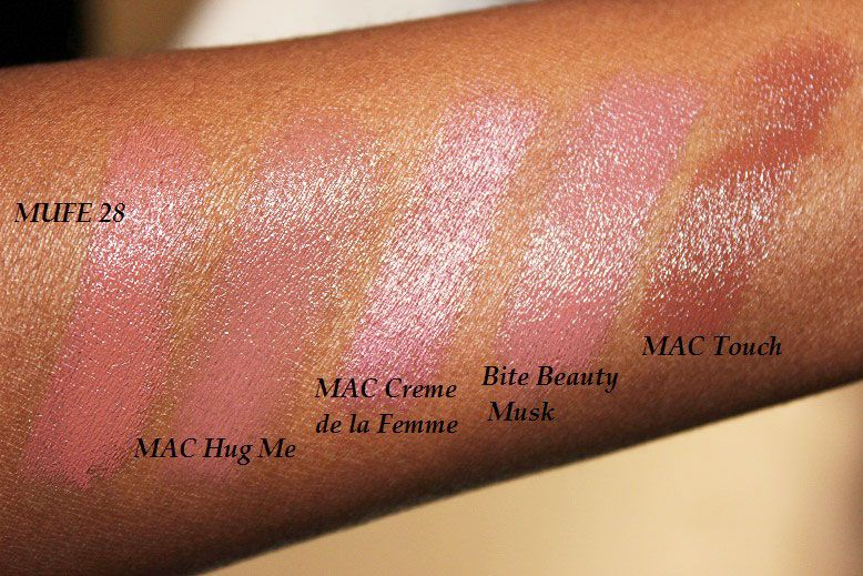 mac hug me on dark skin