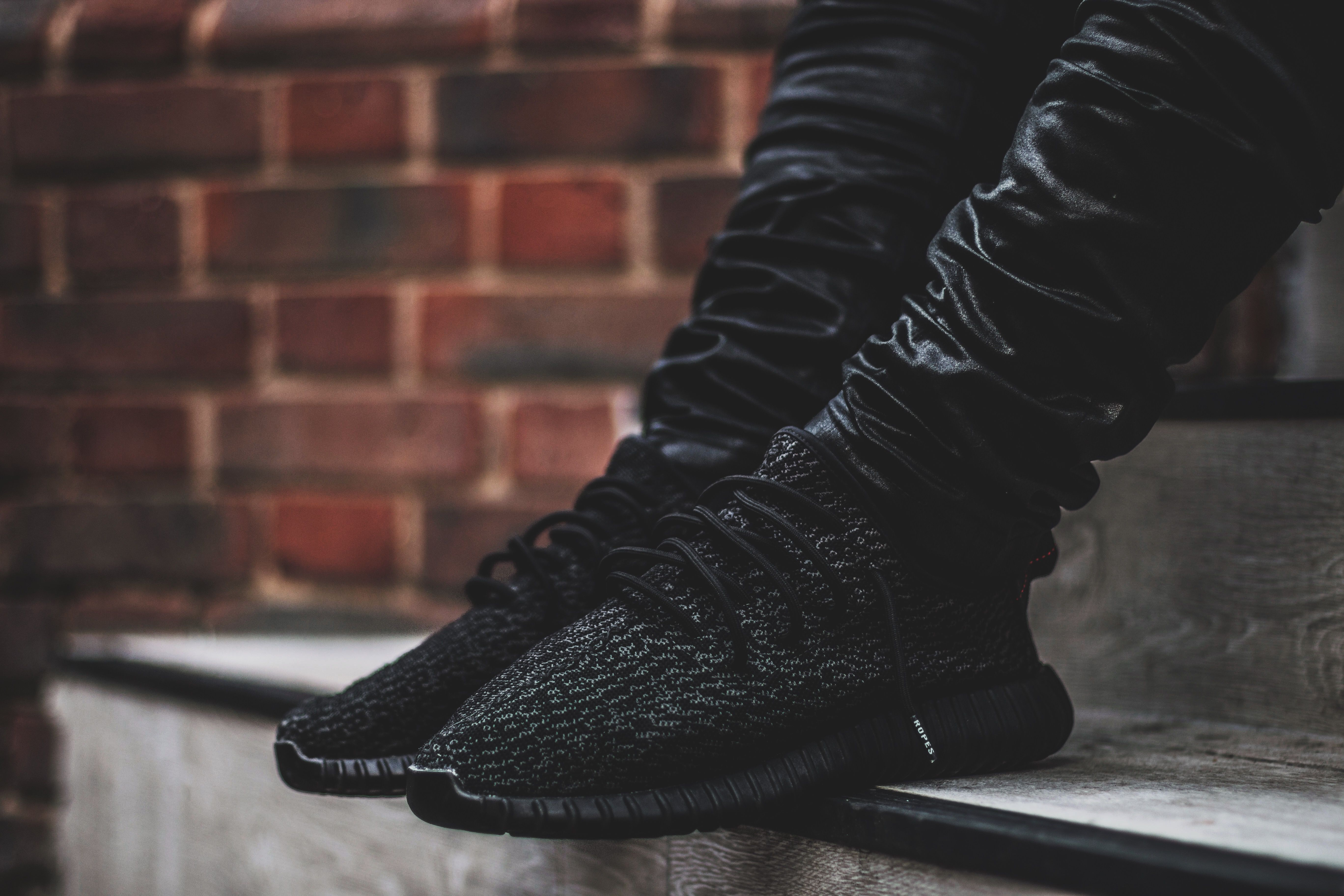 adidas yeezy 350 boost black pirate on feet adidas superstar men black and golden