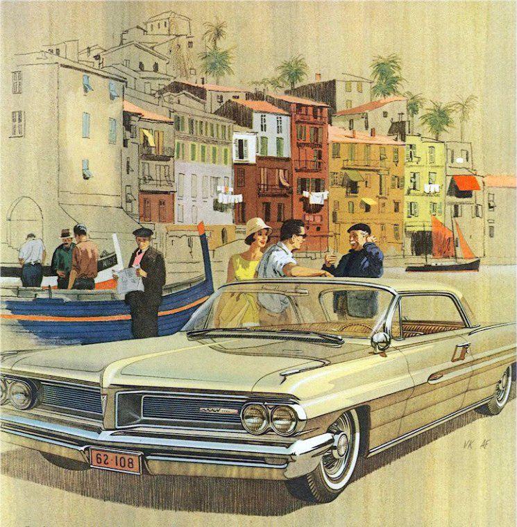1962 Pontiac Grand Prix – 'Villefranche': Art Fitzpatrick and Van Kaufman