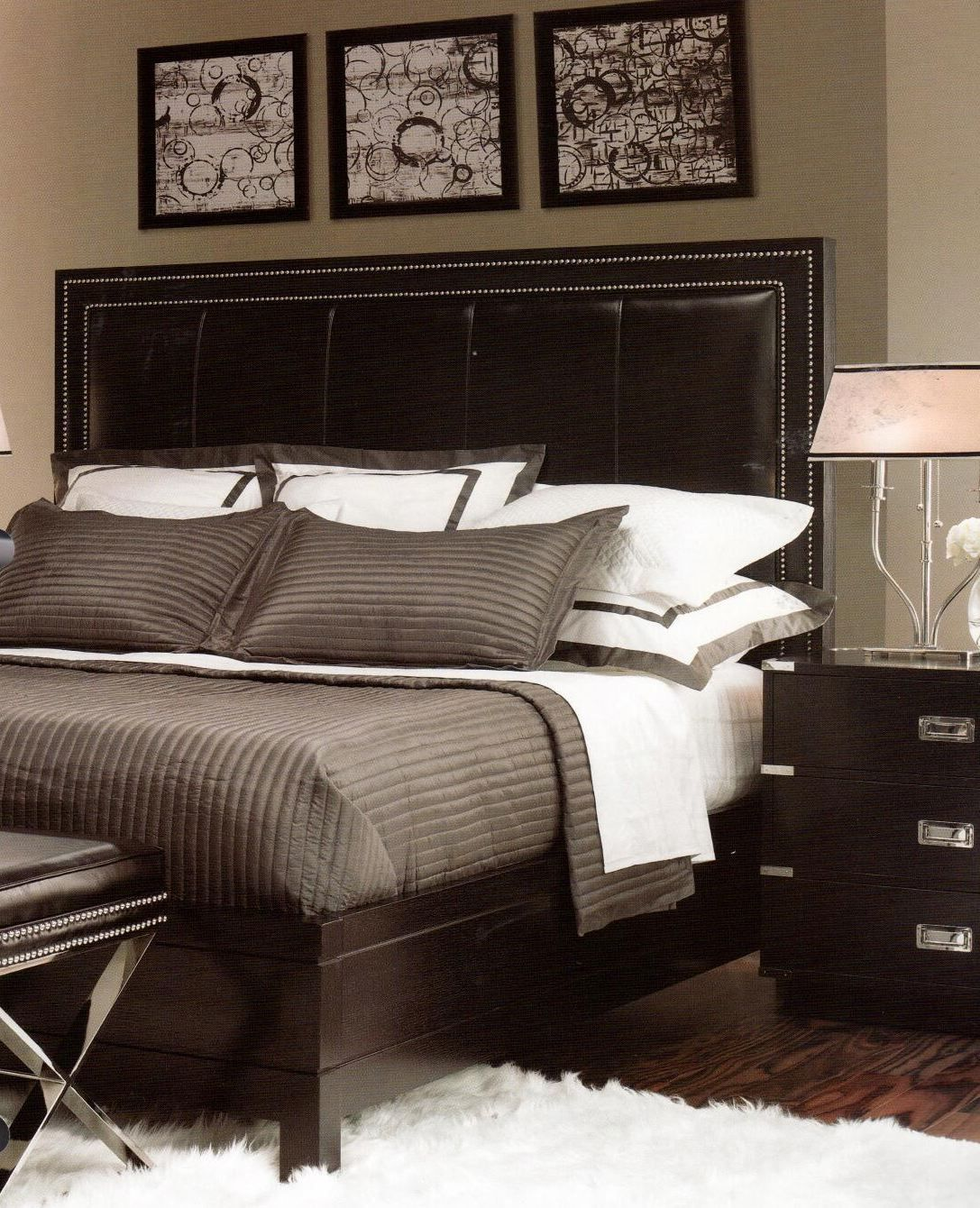 I Love A Leather Headboard Home Decor Bedroom, Closet Bedroom, Bedroom Sets,  Dream