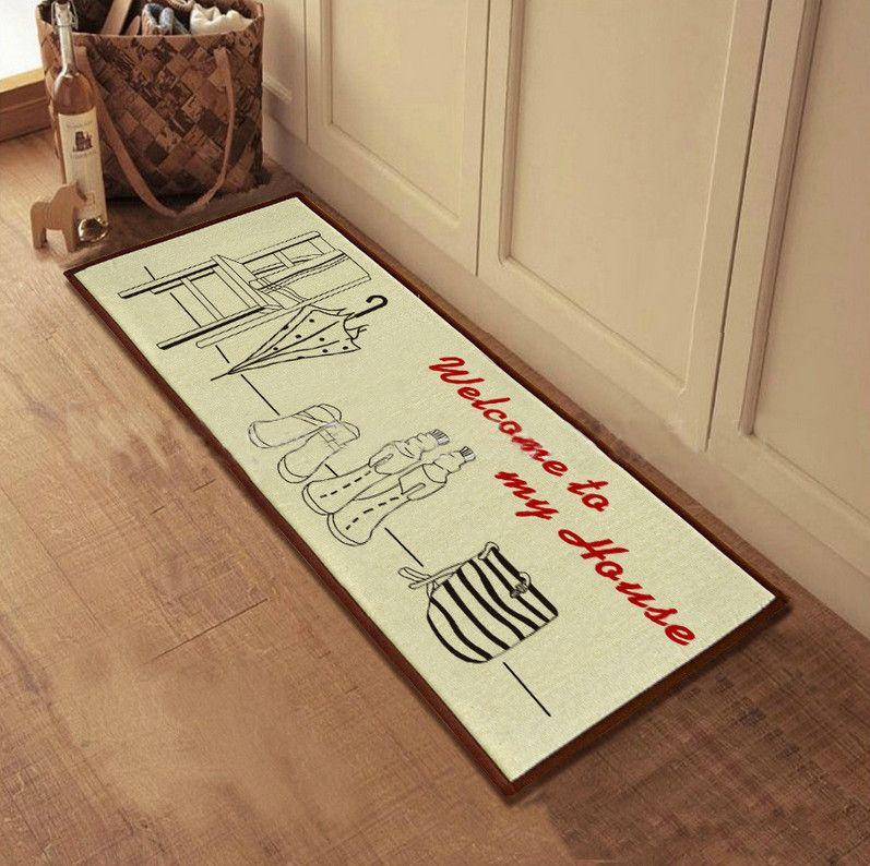creative welcome mats