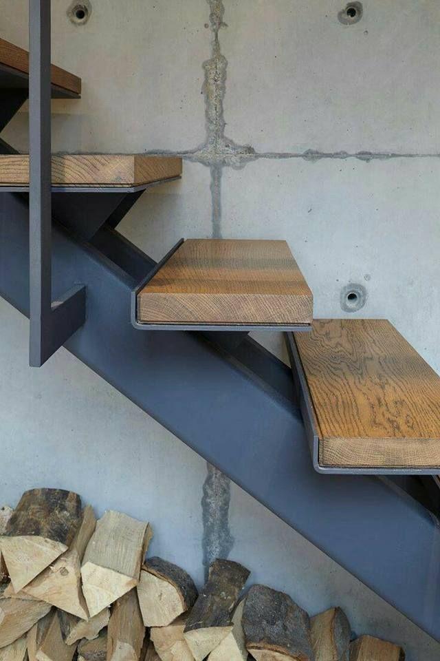 La imagen puede contener interior yondersteeps Pinterest - avantage inconvenient maison ossature metallique