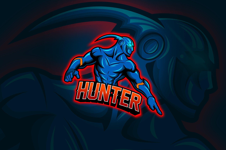 Hunter Mascot & Esport Logo
