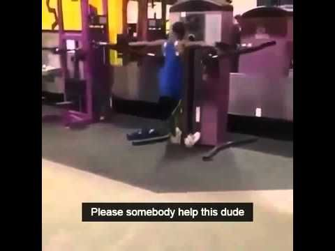 Wow new exercise! Somebody help this dude -  YouTube