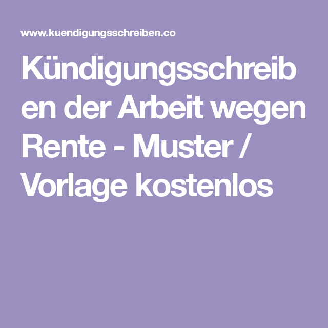 Kündigungsschreiben single.de