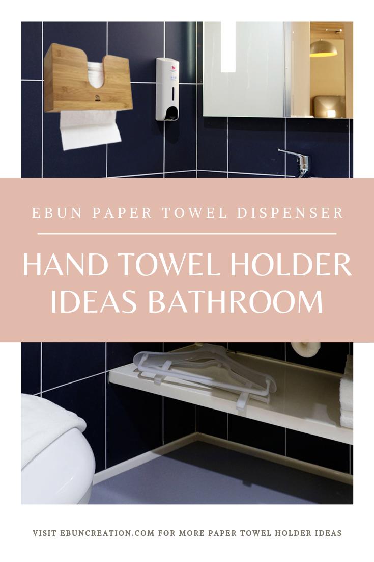 Ebun Bamboo Paper Towel Dispenser Towel Dispenser Paper Towel