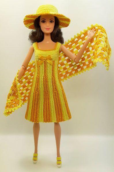 Платья куклам барби своими руками из ткани