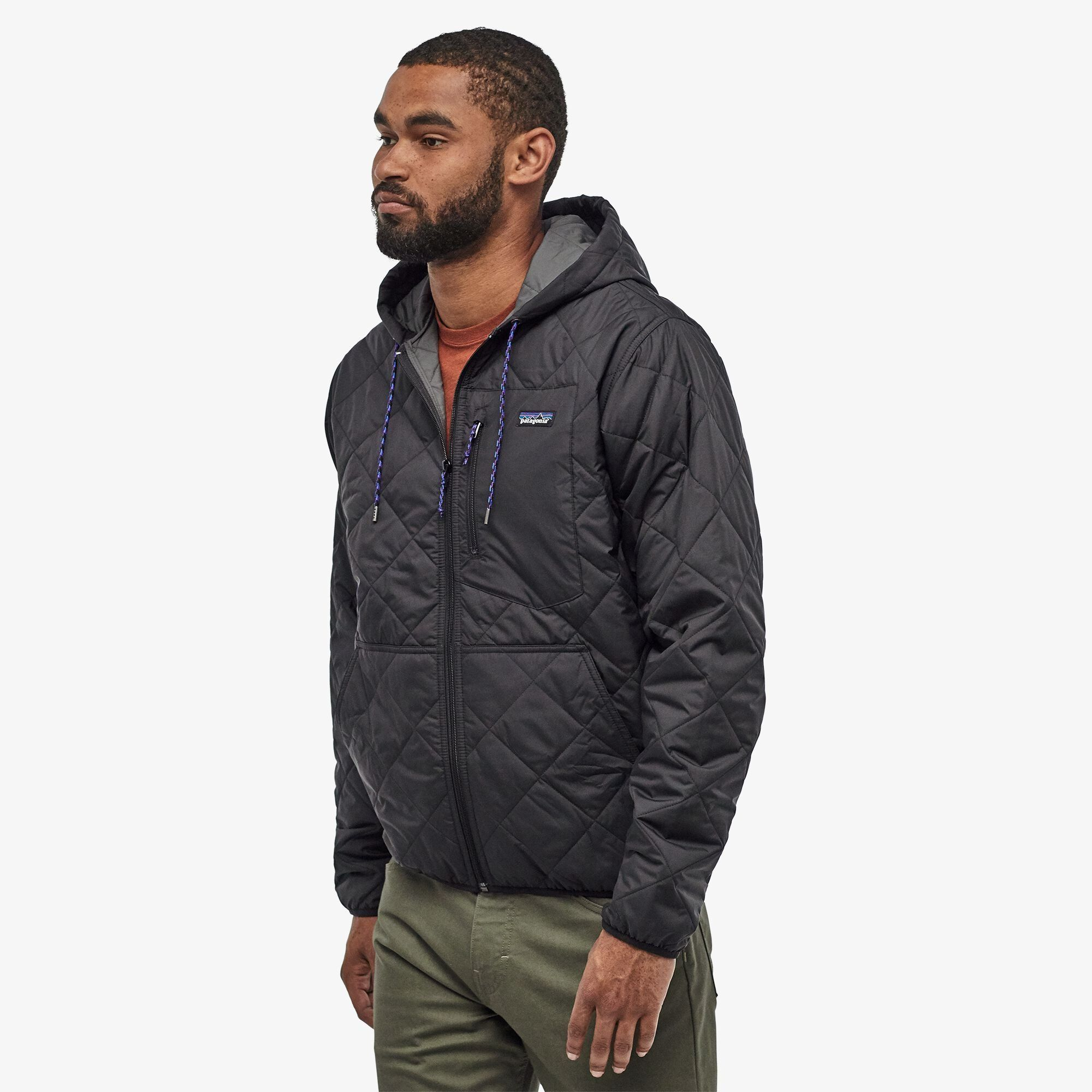 Men S Diamond Quilted Bomber Hoody Hooded Jacket Men Quilted Bomber Patagonia Mens [ 2000 x 2000 Pixel ]