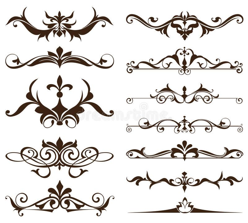 Art Deco Design Elements Of Vintage Ornaments And Borders Corners Of The Frame I Ad Vintage Ornaments Art Nouveau Pattern Art Nouveau Art Deco Design
