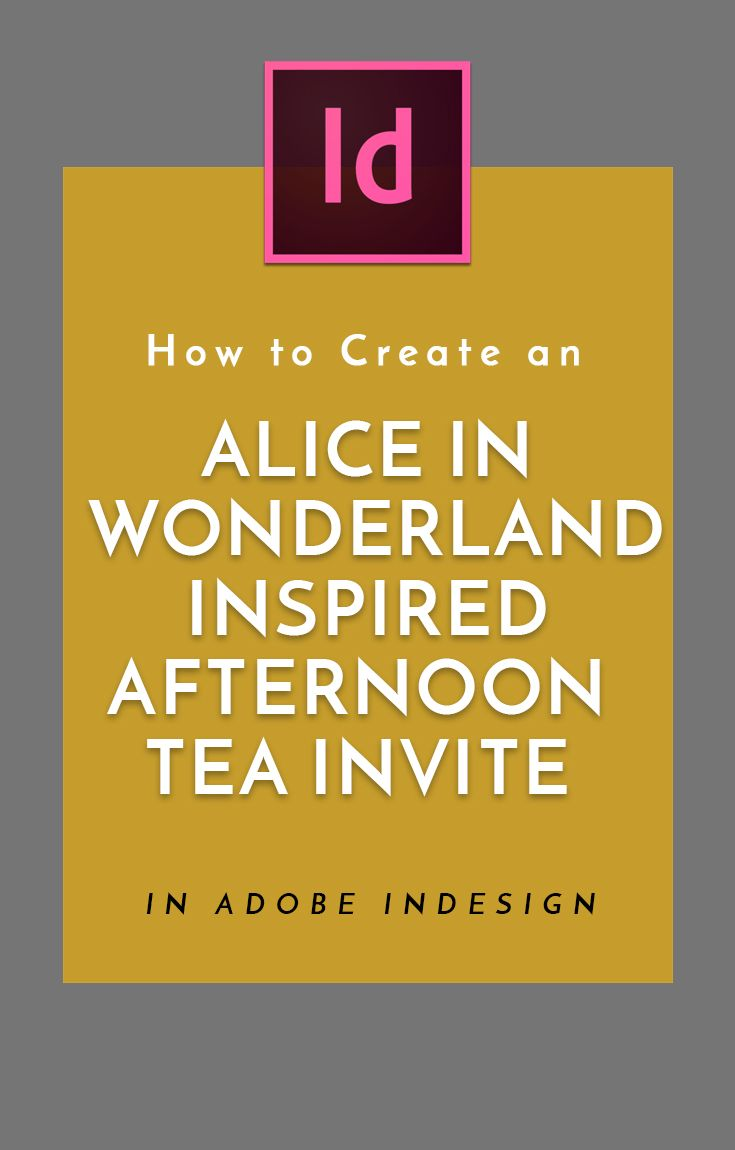 How To Create An Alice In Wonderland Inspired Afternoon