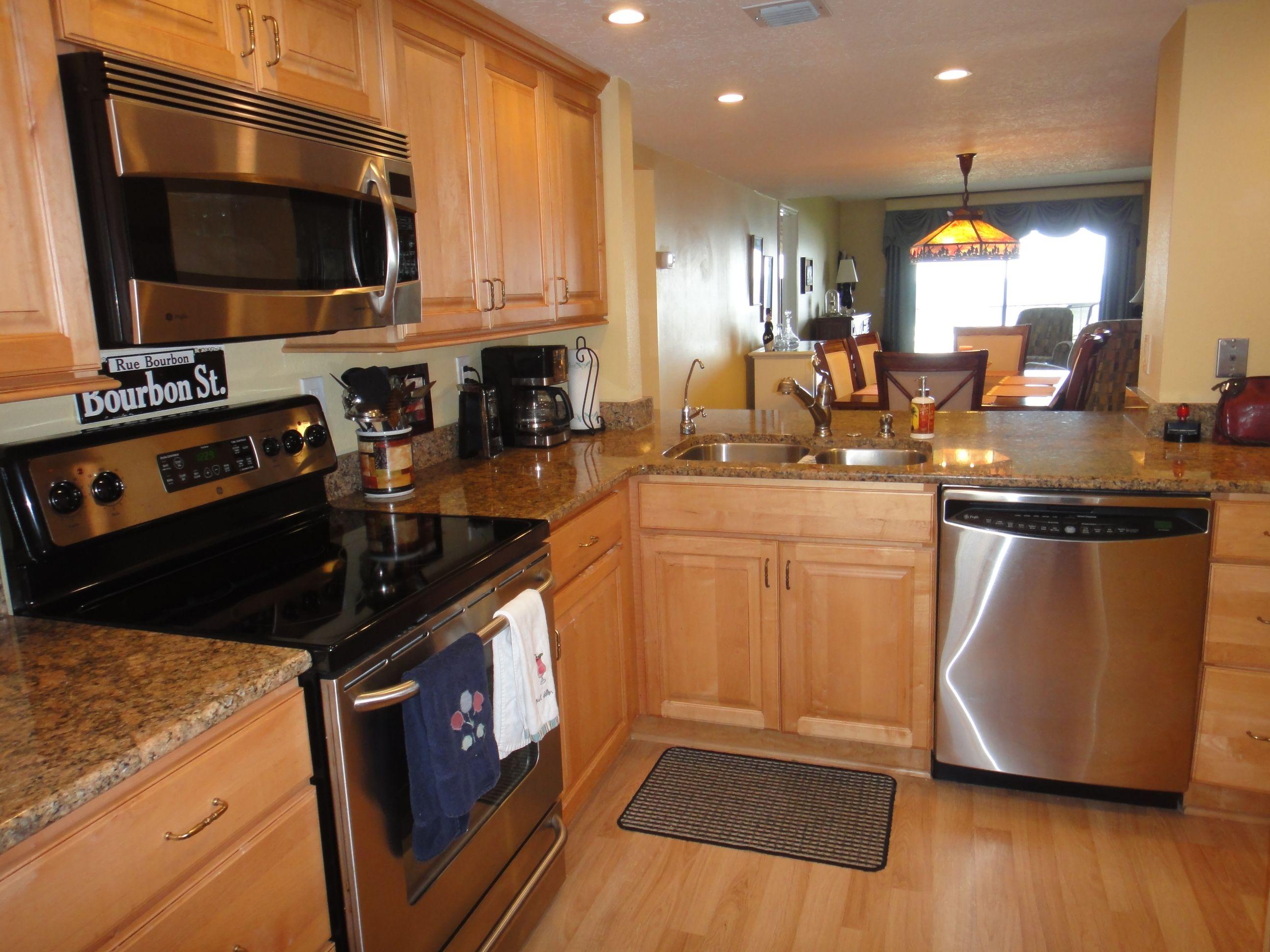 breathtaking kitchen with stainless steel appliances seaside realty windward east on kitchen appliances id=86512