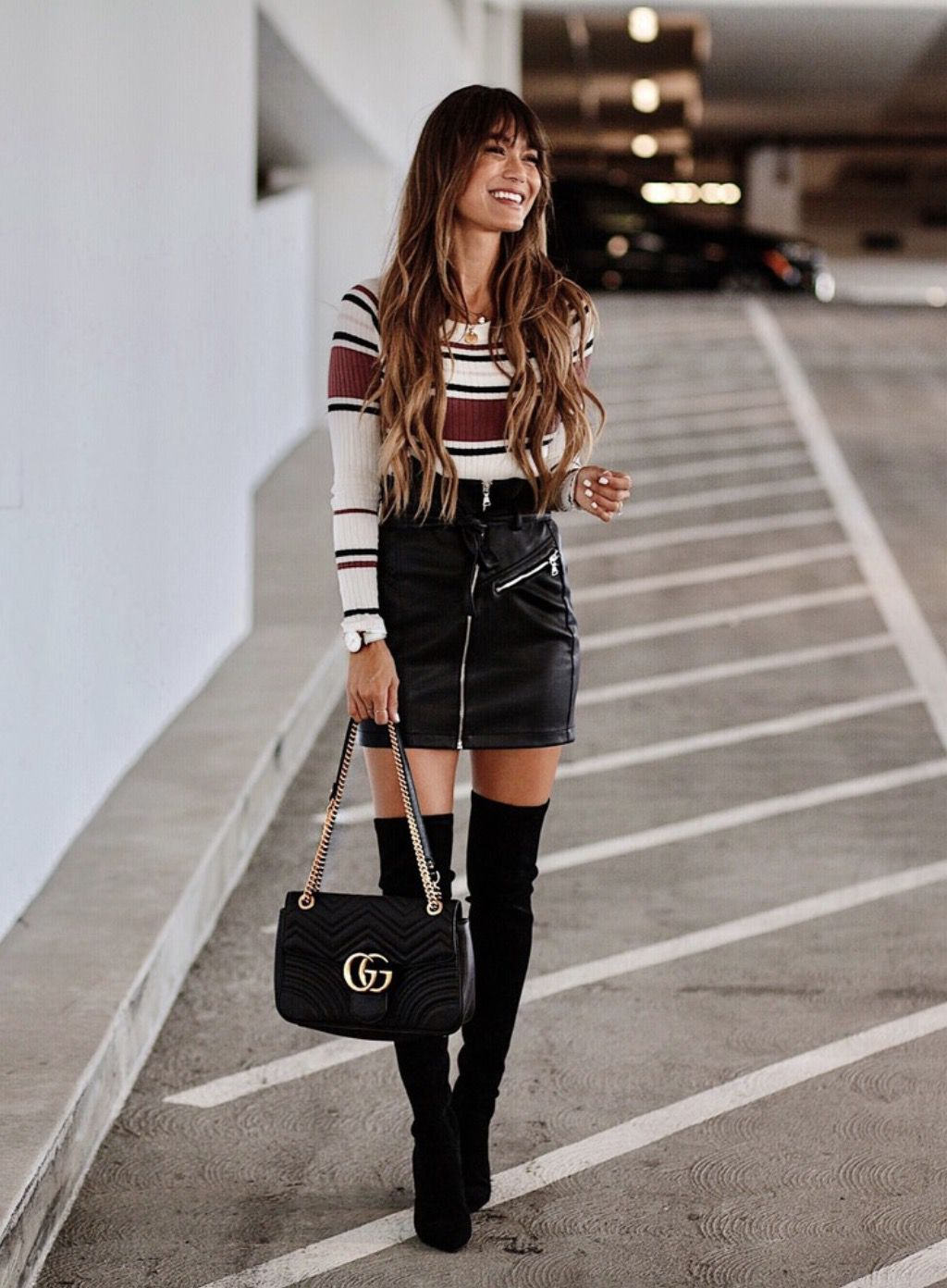 17 Best Over The Knee Boots Outfits To