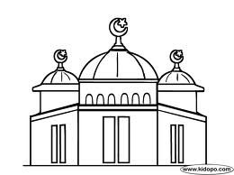 Mosque Drawing Google Search Inspirasional