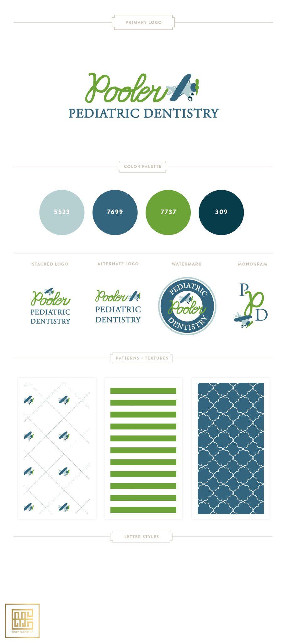 Brand Design Consulting Pediatric Dentistry Dental Branding Dental Logo