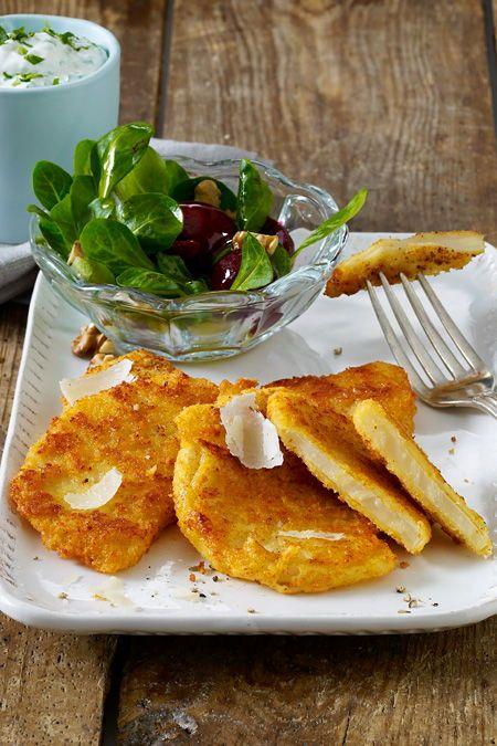 Photo of Sellerieschnitzel mit Parmesan-Panade Rezept | LECKER