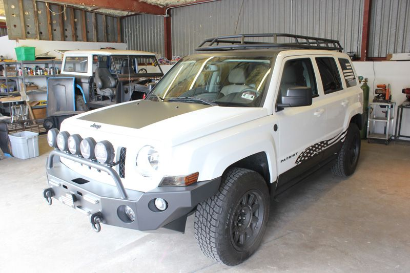 Couple Custom Roof Racks Jeep Patriot Lifted Jeep Jeep Patriot Lifted