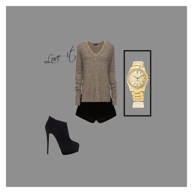 """""""Love it"""" by elenalakpour ❤ liked on Polyvore featuring Andrew Gn, Giuseppe Zanotti and ATM by Anthony Thomas Melillo"""