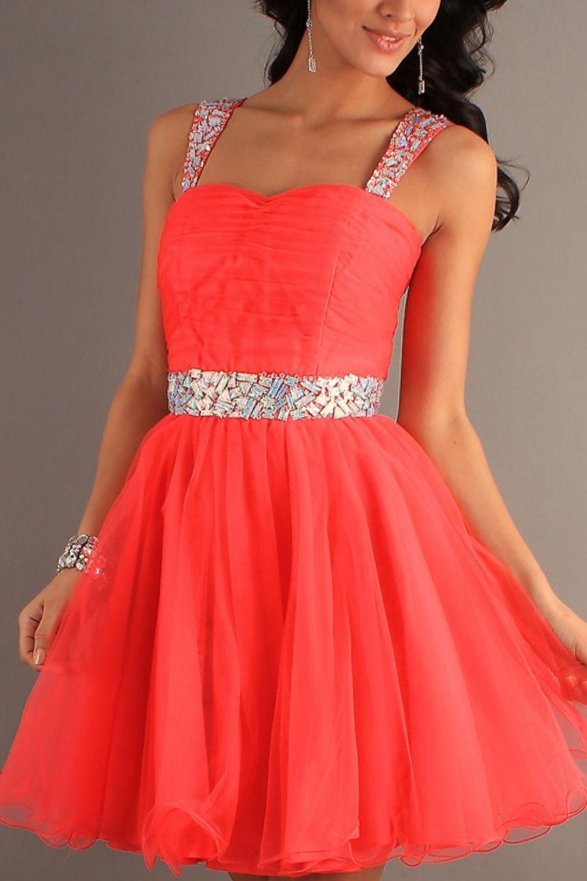 Orange Short Dress Grad Dresses Banquet Dresses Formal Dresses Short [ 1800 x 1200 Pixel ]