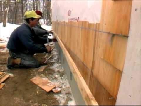 Quick Tip Shingle Siding Snap A Chalk Line For The