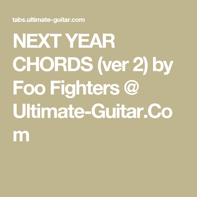 Pin by John McIlwain on Guitar Chords | Pinterest | Foo fighters ...