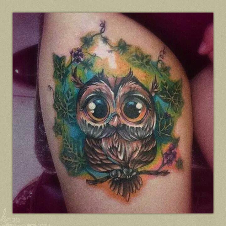 Owl Tattoo … | body art | Tatto…