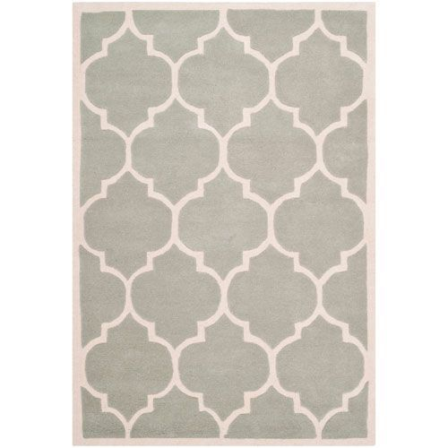 Chatham Grey and Ivory Rectangular: 4 Ft. x 6 Ft. Rug - (In Rectangular)