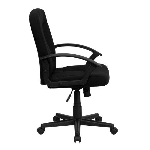 Flash Furniture GO-ST-6-BK-GG Mid-Back Black Fabric Task and Computer Chair with Nylon Arms  http://www.furnituressale.com/flash-furniture-go-st-6-bk-gg-mid-back-black-fabric-task-and-computer-chair-with-nylon-arms-2/