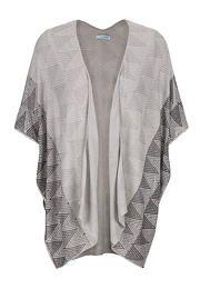 knit kimono in ethnic print - maurices.com