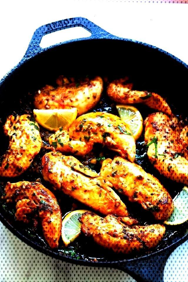 Garlic Butter Chicken Tenders - Chicken Tender Recipes - Rasa MalaysiaGarlic Butter Chicken Tenders