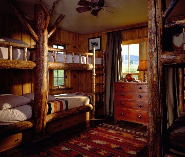 Photo of 18 Comfy Cabin Bedroom Decorating Ideas